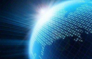Représentation du digital sur terre