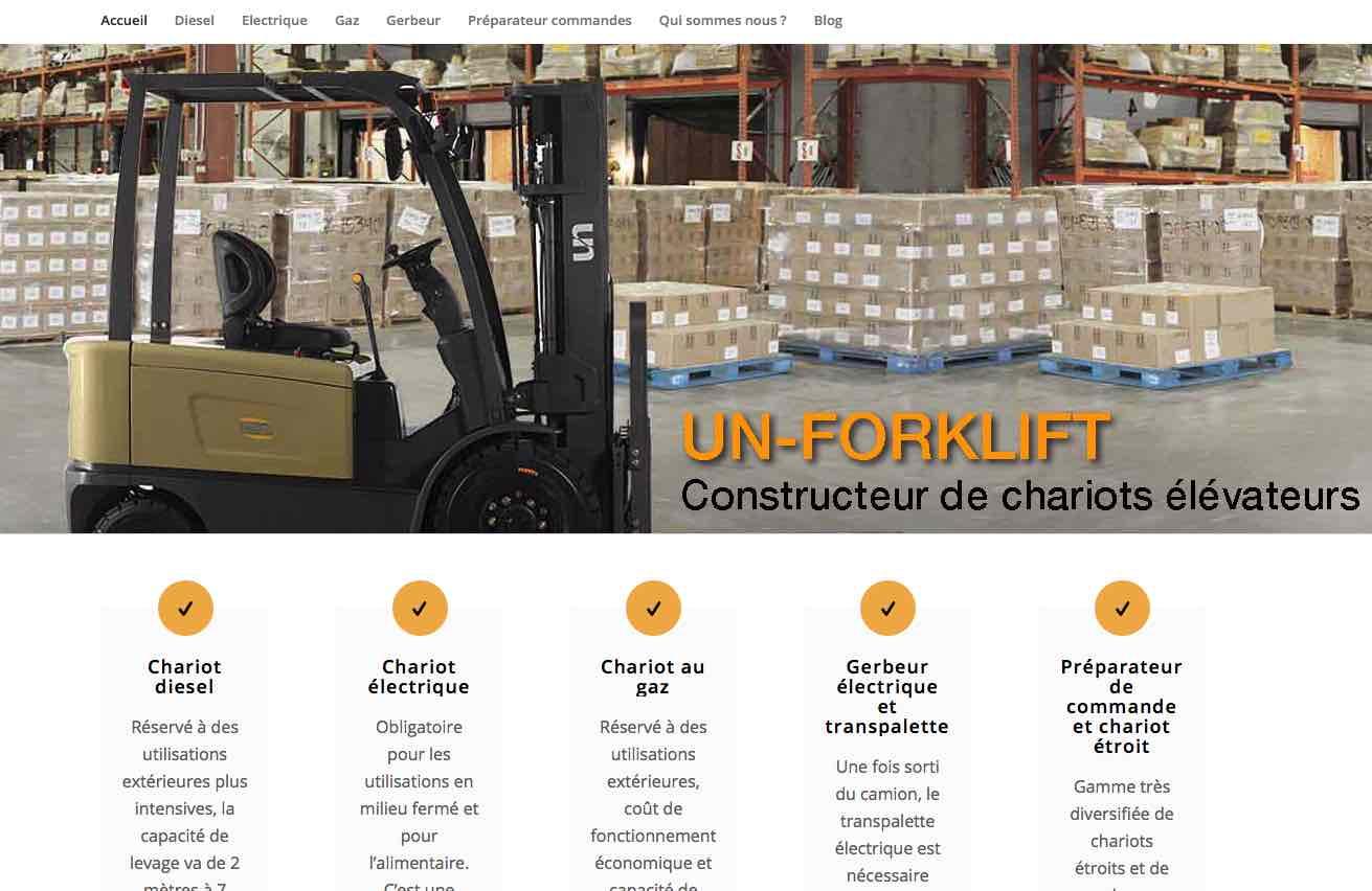 UNForklift-france.com